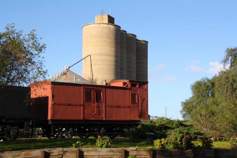 Mt Wycheproof Frieght train